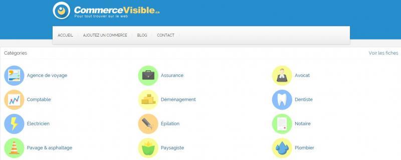 Commerce visible : pour tout trouver sur le web