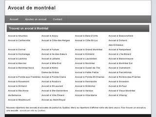 Avocat et avocate de Montréal