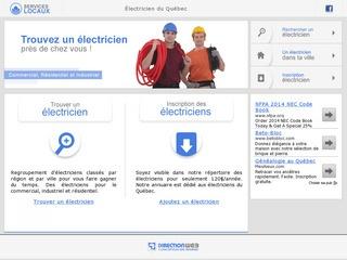 Électricien du Québec